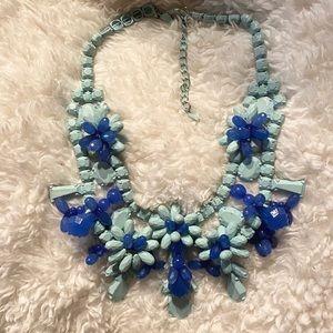 Zara Blue Statement Necklace